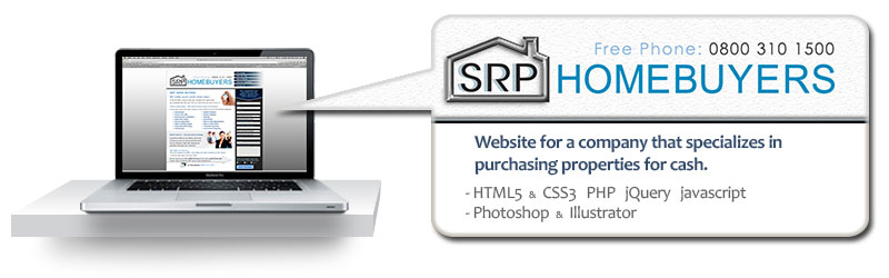 holding page for a property refurbishments website