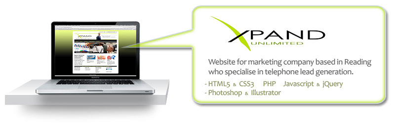 Xpand Unlimited website